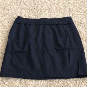 J. Crew Scalloped Skirt